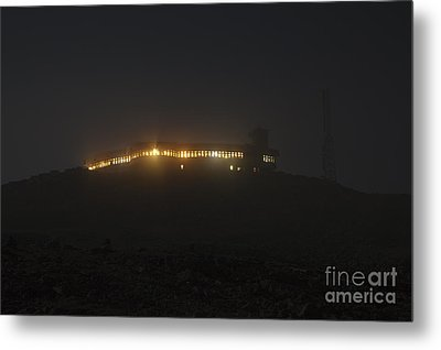Mount Washington New Hampshire - Sherman Adams Building  Metal Print by Erin Paul Donovan
