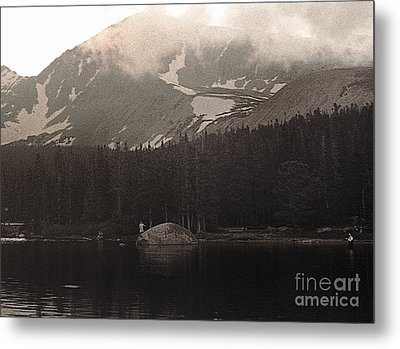 Mountain Anglers Metal Print
