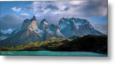Metal Print featuring the photograph Mountain Dream by Andrew Matwijec
