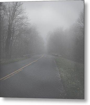 Mountain Fog Metal Print by Joseph G Holland