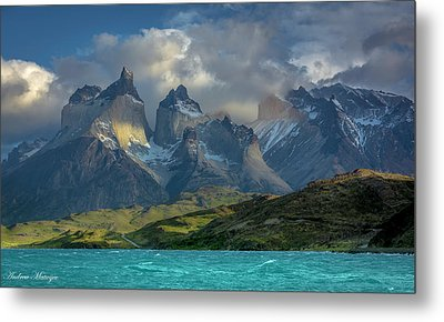 Metal Print featuring the photograph Mountain Glimmer by Andrew Matwijec