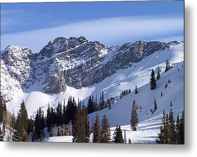 Mountain High - Salt Lake Ut Metal Print by Christine Till