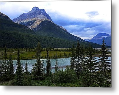 Mountain High Metal Print by Heather Vopni