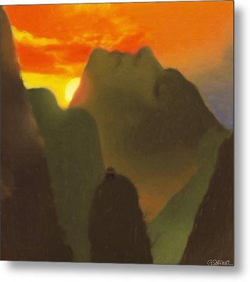 Mountain Magic Metal Print