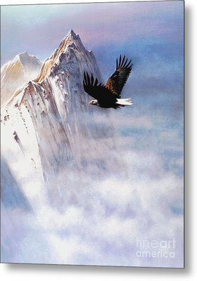 Mountain Majesty Metal Print by Robert Foster
