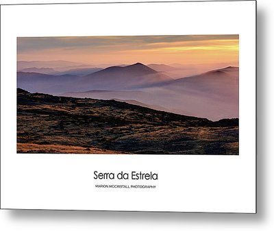 Mountain Mist Poster Metal Print by Marion McCristall