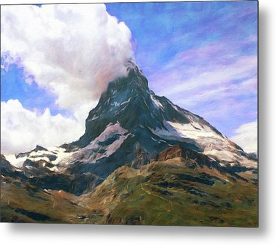 Metal Print featuring the photograph Mountain Of Mountains  by Connie Handscomb