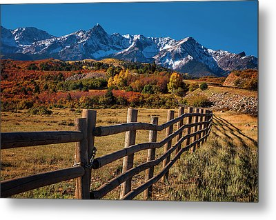 Metal Print featuring the photograph Mountain Pastures by Andrew Soundarajan