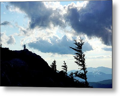 Mountain Peak Metal Print by Meta Gatschenberger