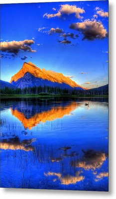 Metal Print featuring the photograph Mountain Reflection by Sean McDunn