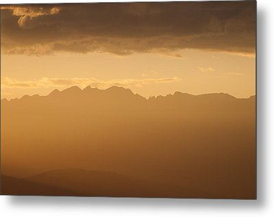 Metal Print featuring the photograph Mountain Shadows by Colleen Coccia
