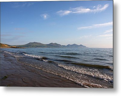 Mountain Shore Metal Print