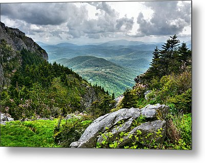 Mountain Spring Metal Print by Sallie Woodring