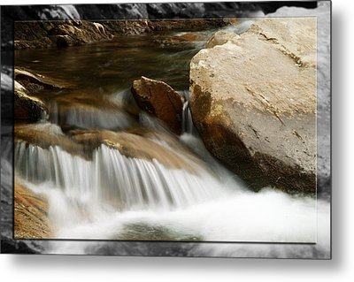 Mountain Stream B Metal Print