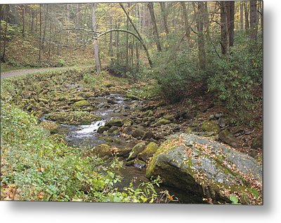 Mountain Stream Metal Print by Cindy and Dave Hicks