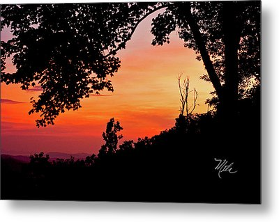 Mountain Sunrise Metal Print by Meta Gatschenberger