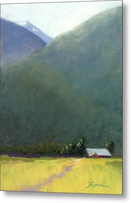 Mountain Valley Farm Metal Print