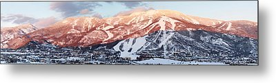 Metal Print featuring the photograph Mountain Werner  by Daniel Hebard