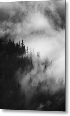 Mountain Whispers Metal Print by Mike  Dawson