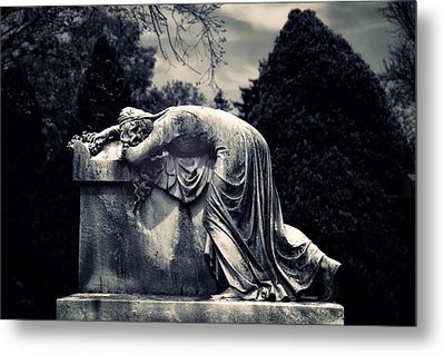 Mournful Metal Print by Jessica Jenney