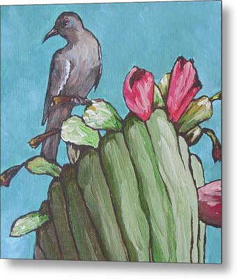 Mourning Dove Metal Print by Sandy Tracey