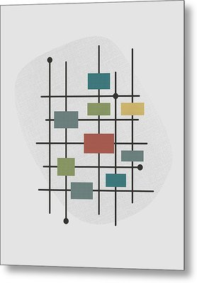 Movement - 1 Metal Print by Finlay McNevin