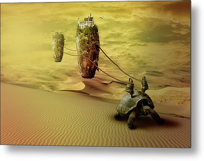 Moving On Metal Print by Nathan Wright