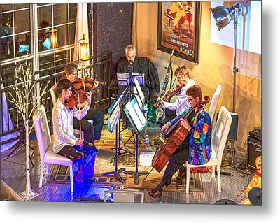 Metal Print featuring the photograph Mozart Mash by Anthony Baatz