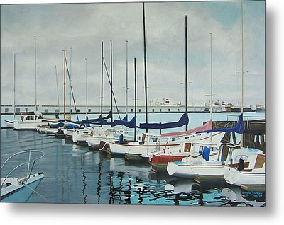 Mozells Boats Metal Print by Howard Stroman