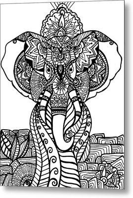 Mr. Elephante Metal Print