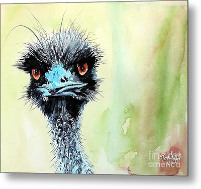 Mr. Grumpy Metal Print