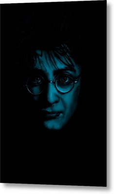 Mr Harry Potter Metal Print by Brian Broadway