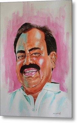 Mr. Madhusudhana Chari Metal Print by Venkat Meruvu