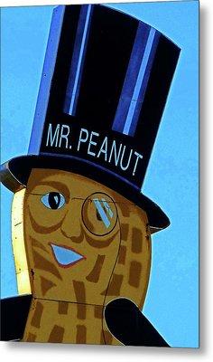 Mr Peanut 2 Metal Print