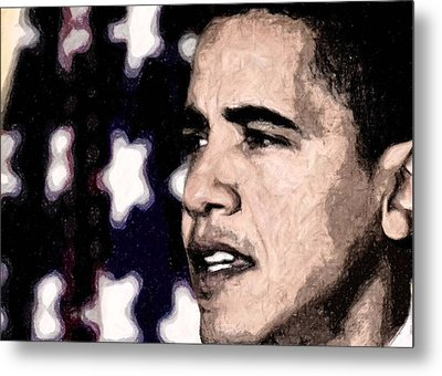 Mr. President Metal Print by LeeAnn Alexander