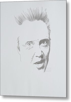 Metal Print featuring the mixed media Mr. Walken by TortureLord Art
