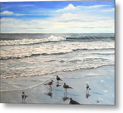 Mrytle Beach Metal Print by Mike Ivey