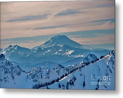 Mt Adams Metal Print