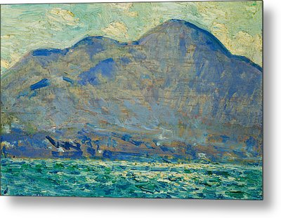 Mt. Beacon At Newburgh Metal Print by Childe Hassam