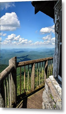 Mt. Cammerer Metal Print by Debbie Green