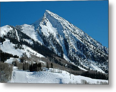 Mt Crested Butte Metal Print