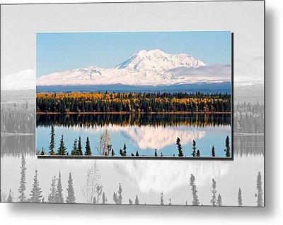 Metal Print featuring the photograph Mt. Drum - Alaska by Juergen Weiss