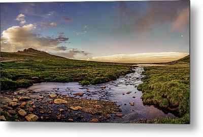Metal Print featuring the photograph Mt. Evans Alpine Stream by Chris Bordeleau