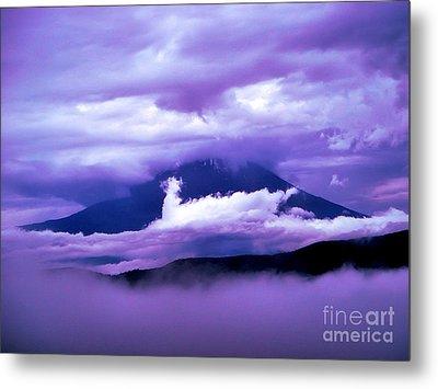 Mt Fuji Metal Print by Yvonne Johnstone