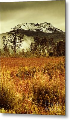 Mt Gell. Tasmania National Park Of Franklin Gordon Metal Print