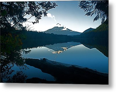 Mt. Hood Dawn Reflection Metal Print by Todd Kreuter