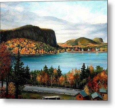 Mt. Kineo, Rockwood, Maine Metal Print