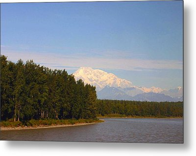 Metal Print featuring the photograph Mt. Mckinley Alasa 0755 by Jack G  Brauer