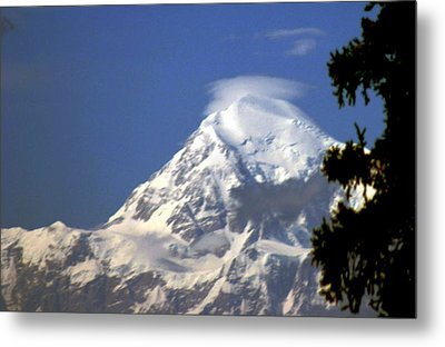 Metal Print featuring the photograph Mt. Mckinley From 60 Miles Away by Jack G  Brauer