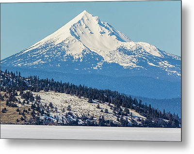 Metal Print featuring the photograph Mt. Mcloughlin by Marc Crumpler
